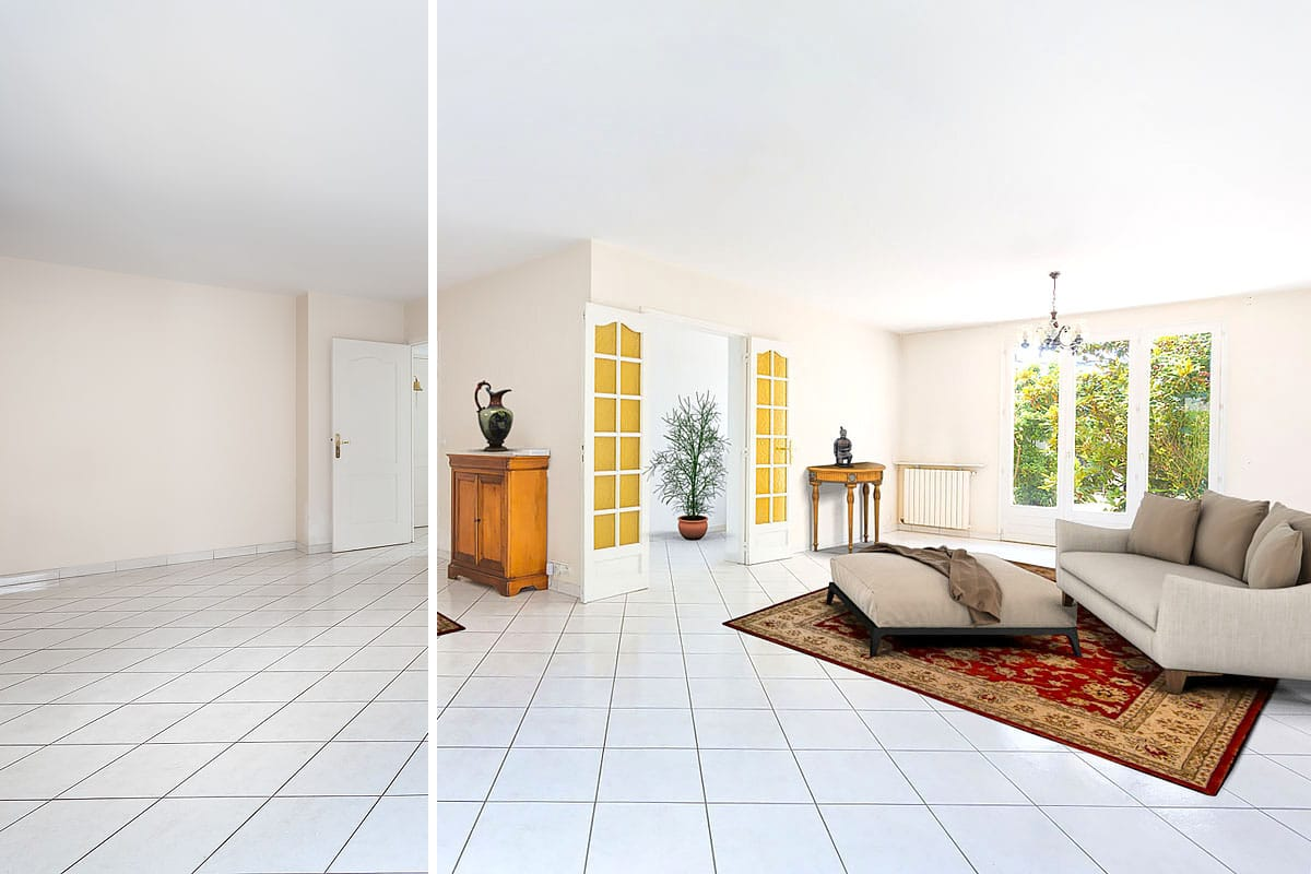 Immobilier • Home Staging Virtuel