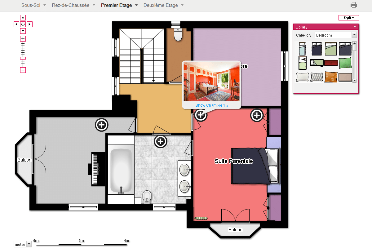 Immobilier • Plans 2D/3D Interactifs